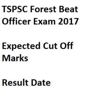 TSPSC Forest Officer Result 2020 FRO FBO FSO Cut Off Marks