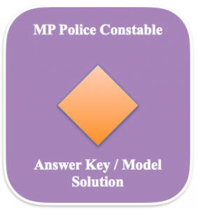 mp police constable model answer key download solution expected answer sheet final keys madhya pradesh set solution set wise date wise shift