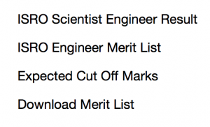 ISRO Scientist Result 2020 Engineer Expected Cut Off Marks Date