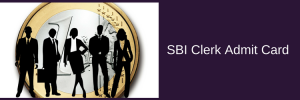 SBI Clerk Admit Card 2020 Exam Date Junior Associates Call Letter