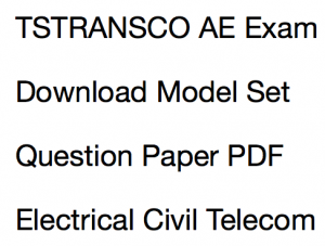 tstransco ae previous paper download solved pdf assistant engineer previous years question paper download fully solved solution mcq questions answers old solved set pdf telangana civil electrical telecom electronics