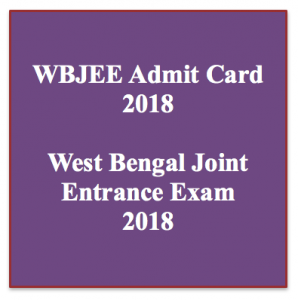 wbjee admit card 2021 download exam date hall ticket west bengal joint entrance examination test when admit card will release