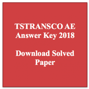 tstransco ae answer key download 2018 solved question paper solved set 11-03-2018 11th march download civil electrical electronics