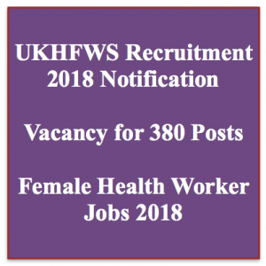 UKHFWS Call Letter 2020 Health Worker Female Call letter Out