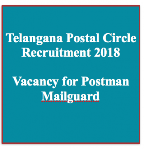 Telangana Postman Recruitment 2020 Telangana Postal Circle Vacancy 136 Posts