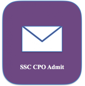 ssc cpo admit card 2018 hall ticket download staff selection commission police sub inspector asi si cbt tier 1 tier 2