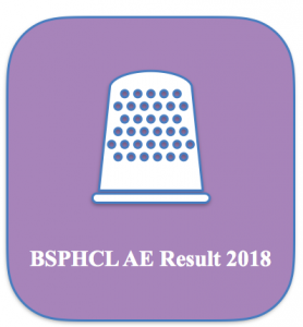bsphcl ae result 2018 bihar assistant engineer electrical civil