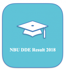 NBU DDE Result 2021 Part 1 2 MA Distance ddenbu.in Semester Result