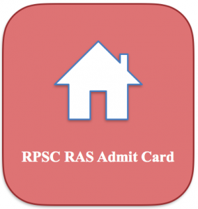 RPSC RAS Admit Card 2020 Download   Administrative Service Exam Date
