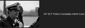 AP SCT Police Constable Admit Card 2020 Download Exam Date Preliminary