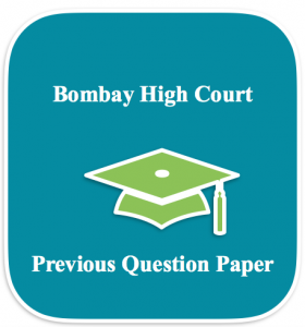 Bombay High Court Previous Papers Peon Junior Clerk Solved Paper