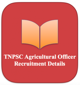 TNPSC AO syllabus 2021 Download agriculture officer exam pattern