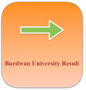 burdwan university result 2021 check online subject wise provisional merit list download online www.buruniv.ac.in