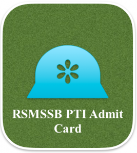 RSMSSB PTI Admit Card 2020 Download Physical Training  Instructor Exam Date