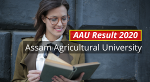 AAU Result 2020 aau.ac.in 1st 2nd 3rd 4th 5th 6th Semester Results