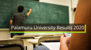 Palamuru University Results 2021 (OUT) Degree Semester 1st 2nd 3d 4th 5th 6th UG