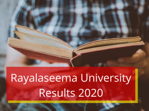 Rayalaseema University Results 2021 Degree 1st 2nd 3rd 4th 5 6 Sem