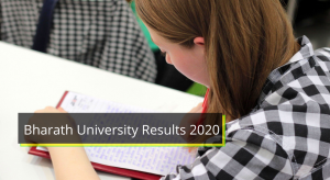 Bharath University Results 2021 BA B.Sc 1st 2nd 3rd 4th 5th 6th Sem Result