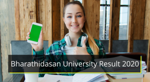 Bharathidasan University Result 2021 BDU Merit List Cut off Marks