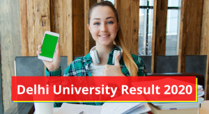 Delhi University Result 2021 DU Result du.ac.in Semester Marksheet