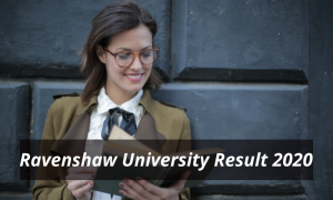 Ravenshaw University Result 2021 UG PG Merit List Download