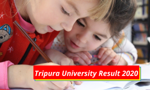 Tripura University Result 2020 TU Merit List Cut off Marks www.tripuraiv.ac.in Tripura University Examination Results 2019-2020