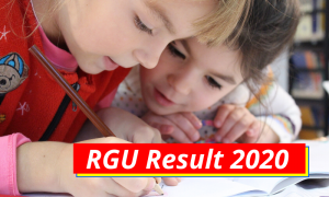 RGU Result 2021 {Out} 1st 2nd 3rd 4th 5th 6th Semester Results