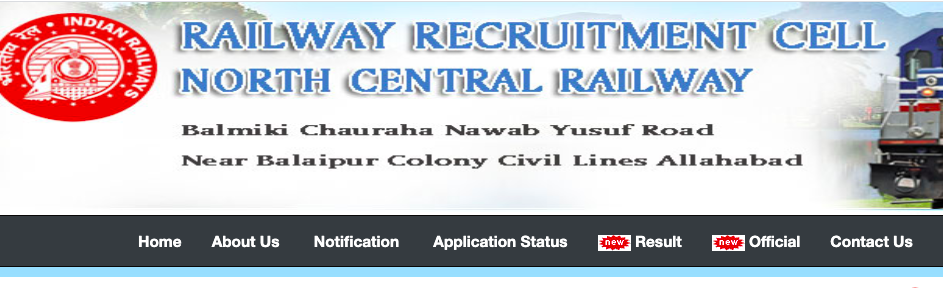 NCR Apprentice Merit List 2021 North Central Railway Jhansi Result