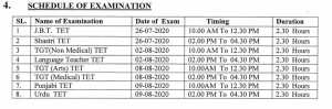 hp tet 2020 exam date admit card download expected schedule