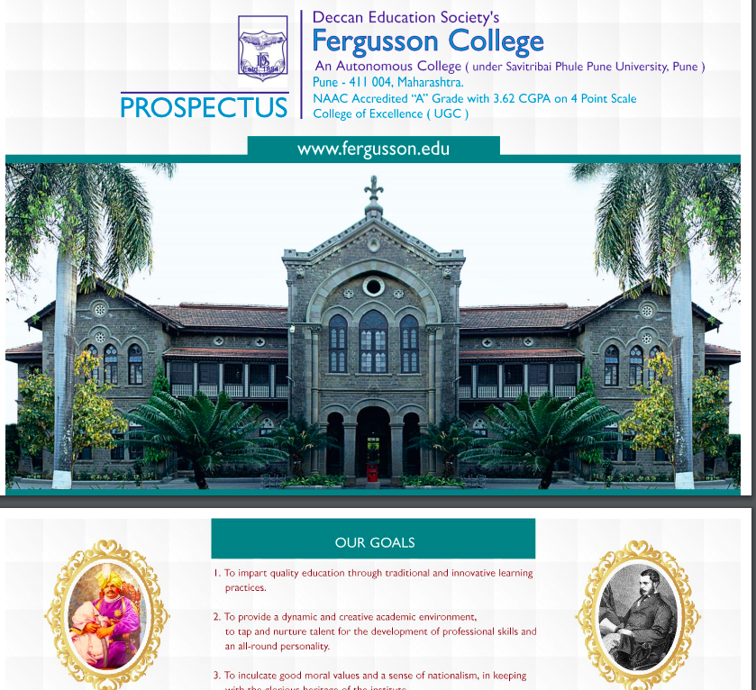 Fergusson College Merit List 2021 Pune Cut Off fyba fybcom fybsc