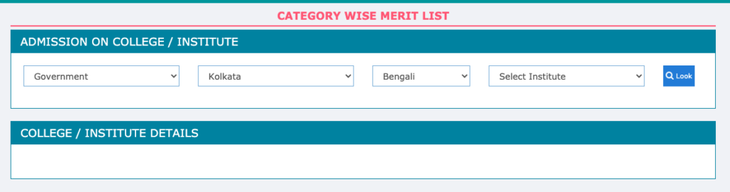 WB DElEd Merit List 2021 for Part 1 Check here we are provided link