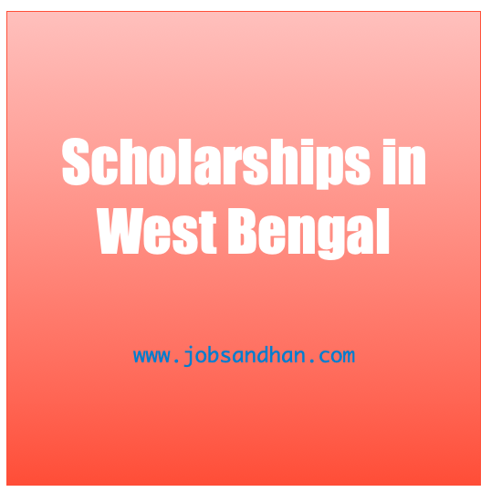 scholarship in west bengal - wb scholarship list 2021