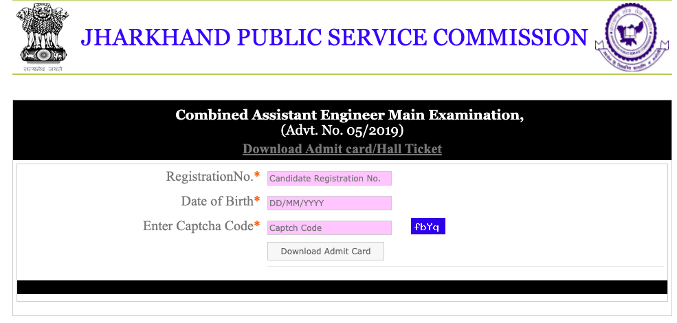 JPSC AE Mains Admit Card 2021 (OUT) Download Now!!