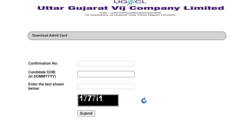 UGVCL Vidyut Sahayak Admit Card 2021 (OUT) VSJA Exam Date Call Letter Junior Assistant
