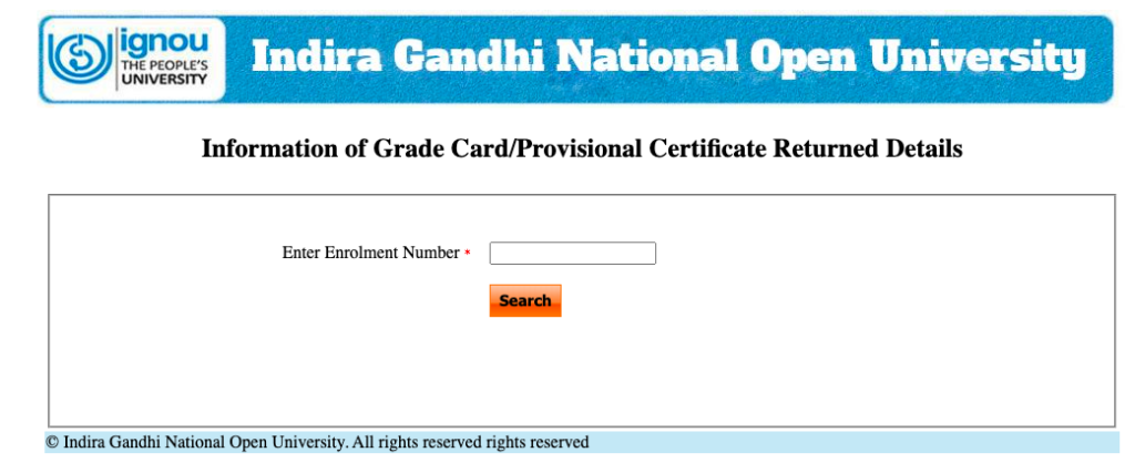Today we are going to talk about the IGNOU Grade Card 2021