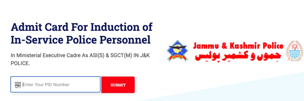 download link of jkp constable admit card from jkpolice.gov.in 2021 - check exam date for physical pet pst written test
