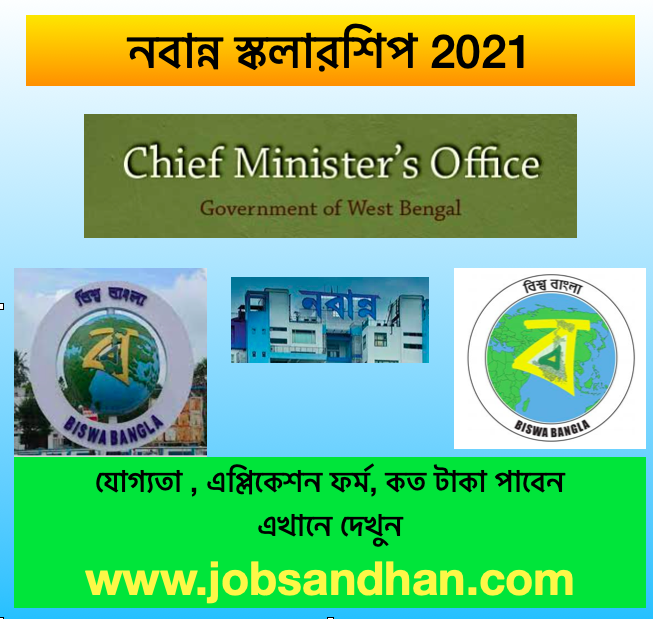 nabanna scholarship application form 2021 download status wb chief ministers relief fund wbcmo.gov.in pdf, eligibility, status, money amount