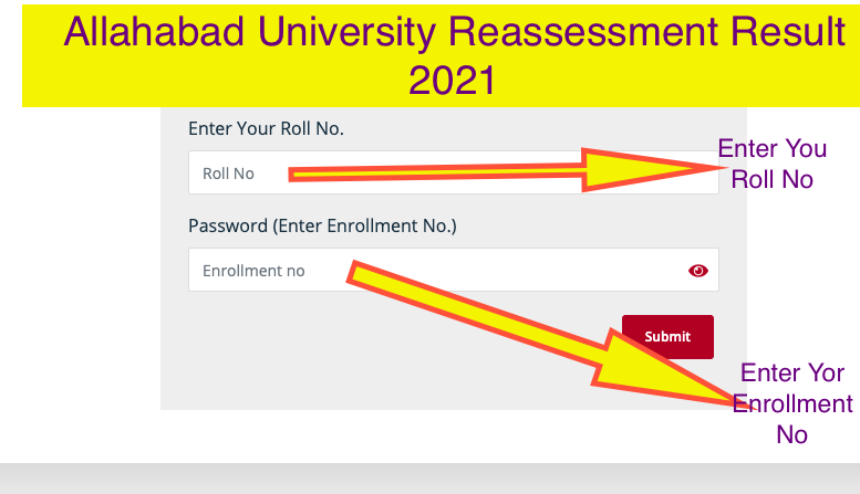 Allahabad University Reassessment Result 2021 Download Process