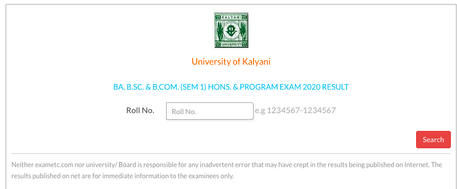 kalyani university 2nd, 4th , 6th semester result 2021 to be released shortly