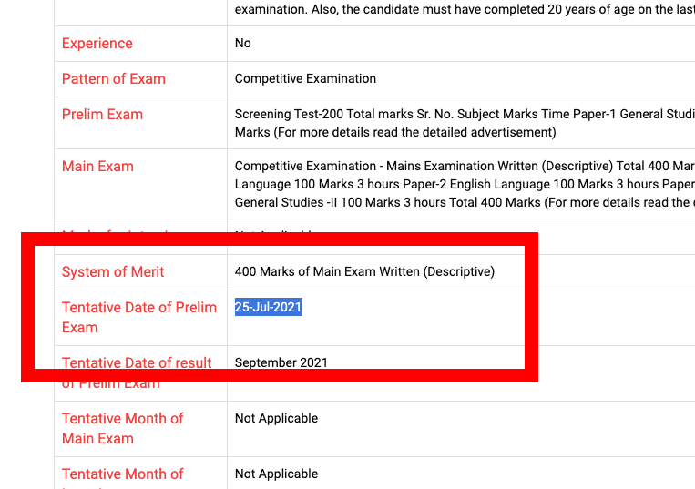 GPSC State Tax Inspector Call Letter 2021 STI Exam Date {25 July}