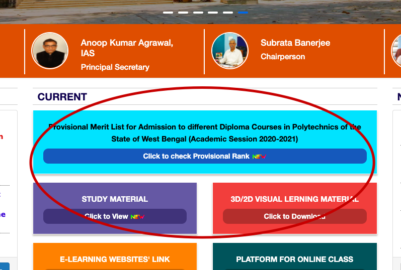 JEXPO Merit List 2021 {out} Provisional Rank for Diploma Admission Result