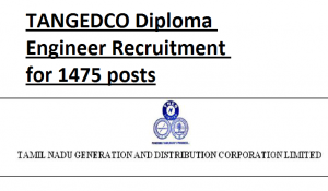 TANGEDCO AE Recruitment 2020 Assistant Engineer Electrical Civil Vacancy