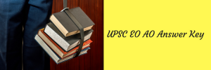 UPSC EO AO Answer Key 2020 EPFO Solved Question Paper 2018