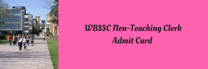 WBSSC Group C D Admit Card 2021 Download Exam Date Clerk Peon Assistant