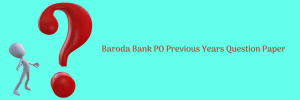 Bank of Baroda PO Previous Question Paper Download BOB Solved PDF