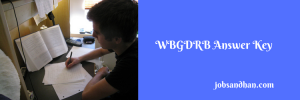WBGDRB Answer Key Group D 2020 Written Test 20th May Solution