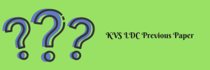 KVS Previous Paper Download Solved Question Old Set PDF NT
