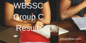 WBSSC Group C & D Result 2020 Clerk Junior Assistant Personality Test