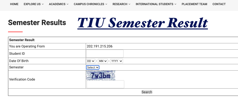 TIU Result 2021 Techno India University Semester Exam Results {out}